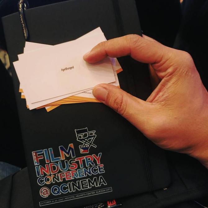 Bong Fernandez at Film Industry Conference 2017
