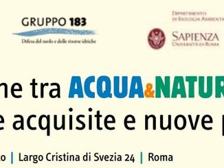 """Invito al seminario """"Integrazione direttive europee acqua e natura"""""""