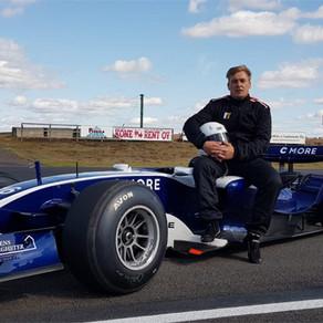 Ensimmäistä kertaa Formula 1:n ratissa!