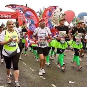 Lontoon maraton on maineensa veroinen