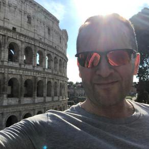 Iltalenkki Colosseumilla
