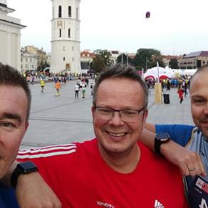 Vilnan maraton 2018 kilometri kilometriltä