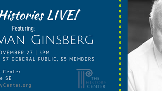 Oral Histories LIVE! with Herman Ginsberg