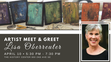 Artist Meet & Greet - Lisa Oberreuter POSTPONED