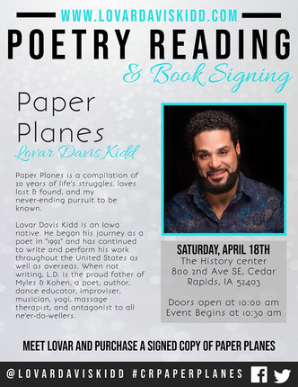 Poetry Book Reading - LD Kidd