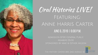 Oral Histories LIVE!