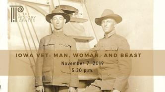 IOWA VET: MAN, WOMAN, AND BEAST