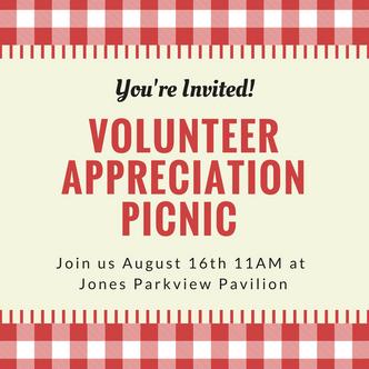 Volunteer Appreciation Picnic