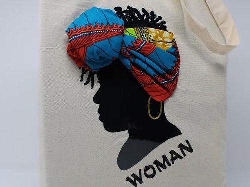 WOMAN Kente Tote