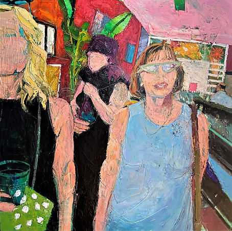 Girls Day Out, 48 x 48, INQUIRE.jpg