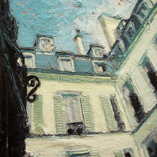 Parisian Courtyard - Paris, France