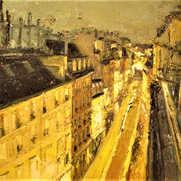 View from Hotel Abbatial, St. Germain - Paris, France