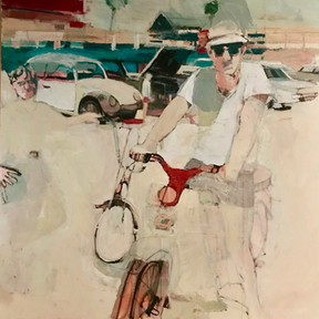 Man on Moped