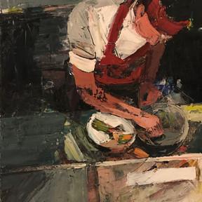Lautrec III - In the Kitchen