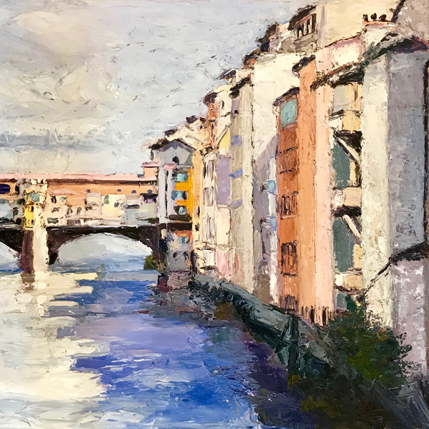 Ponte Vecchio Bridge -  Florence, Italy