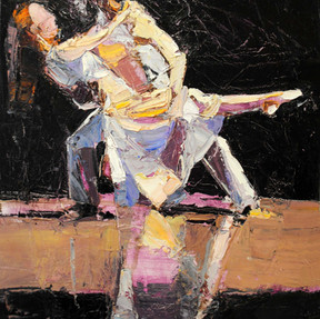 Dancers on Stage I