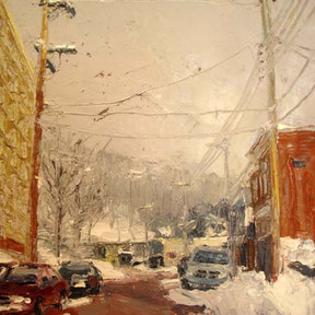 Pittsburgh in Winter (East Crafton Avenue)