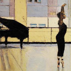Ballerina with Piano