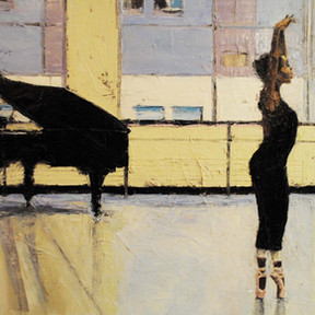 Ballerina with Piano