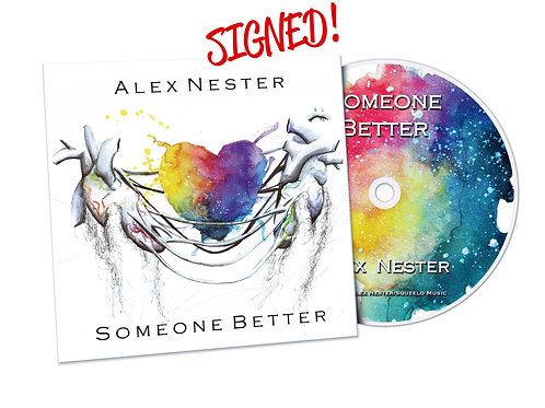 """""""Someone Better"""" Signed CD"""