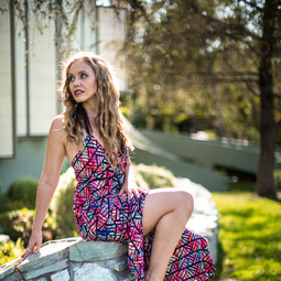 Photo: Matt Grashaw Makeup: Katie Brown Dress: Babykakes in LA