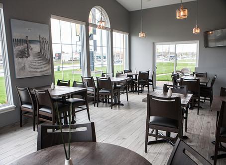 New Breakfast Room & Lobby