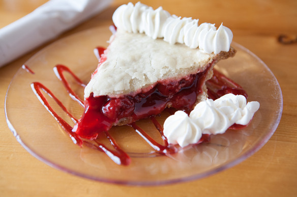 We always have fresh desserts available.