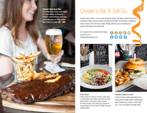 Chester's Bar & Grill, Port Elgin Dining Guide