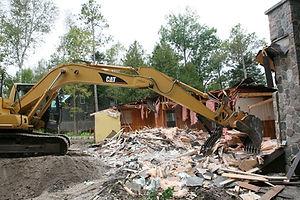 Residential Demolition, Excavation, Port Elgin