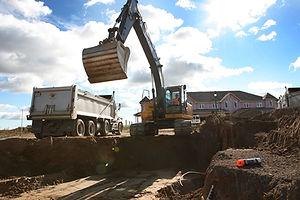 Residential Excavation, Port Elgin Ontario