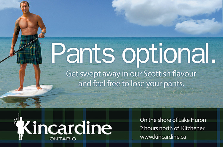 Photography for Pants Optional Ad Campaign