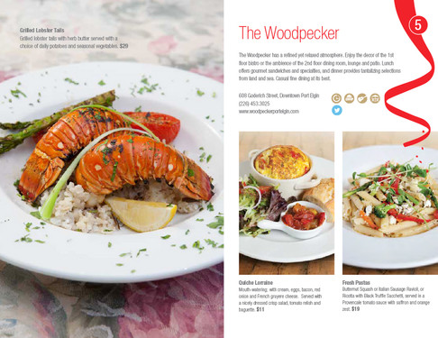 THe Woodpecker, Port Elgin Dining Guide