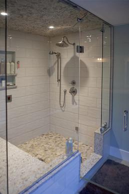 Custom tiled shower in Southampton ON