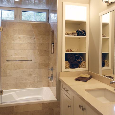 Custom tiled shower in Saugeen Shores ON