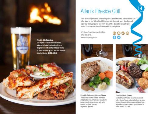 Allan's Fireside Grill, Port Elgin Dining Guide