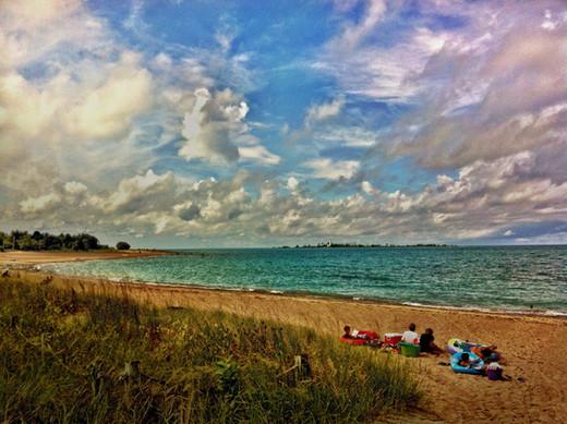 Dramatic Sky, Southampton Beach