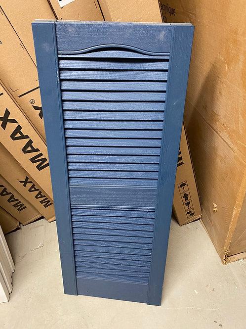 Blue Vinyl Shutters A-010