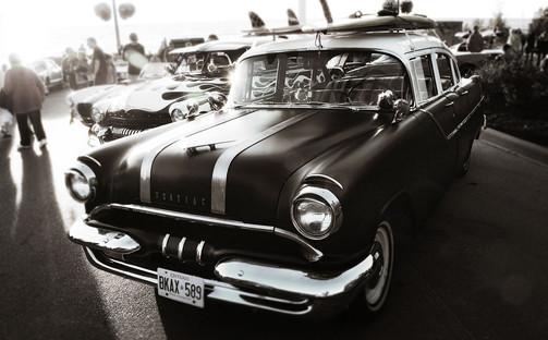 Summer Southampton Ontario Car Show - Tourism Photography