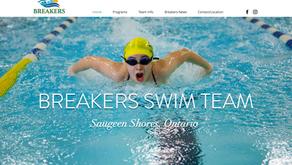 New Website & Logo for Breakers