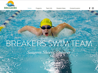 New Website & Logo for Breakers