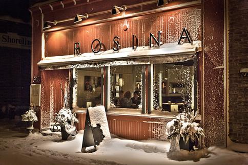 Rosina's, Downtown Port Elgin in Winter, December 2013