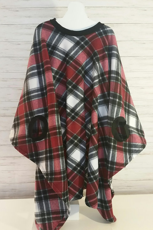 Adult - Garnet and Black Plaid
