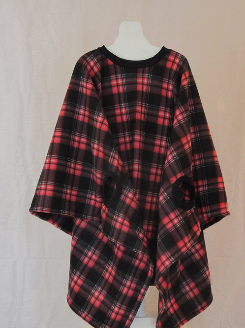 Adult - Tight Red Plaid