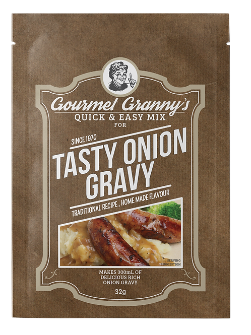 Gourmet Granny's Tasty Onion Gravy Mix (15 x 32g)
