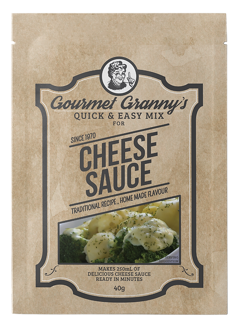 Gourmet Granny's Cheese Sauce Mix (12 x 40g)