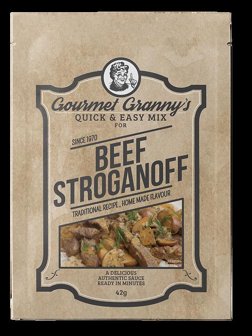 Gourmet Granny's Beef Stroganoff Mix (12 x 42g)