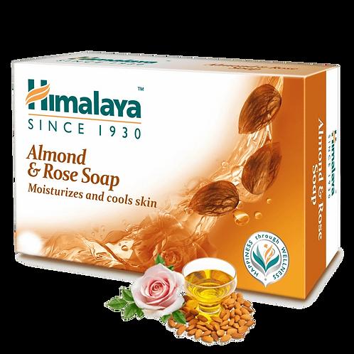 Himalaya Herbals Almond and Rose Soap, 125g