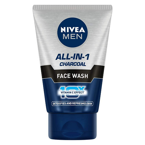 Nivea Men - All-in-1-Charcoal - Face Wash, 50g