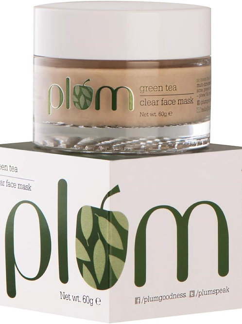 Plum Green Tea Clear Face Mask (60gm)