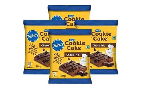 Pillsbury Cookie Cake Choco Trio, 4N x 20g